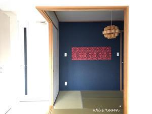 和室の模様替え!またファブリックパネルを作りました(´∀`)そして週末からのスーパーセールで狙うもの。 - uri's room* 心地よくて美味しい暮らし