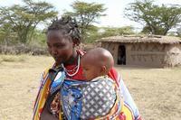 ケニアからタンザニアの先住民であるマサイ族の子供たち - 旅プラスの日記