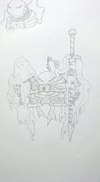 アルファちゃん(初期型)の鎧の守護霊 - 豆大福がてんこもりなブログ2