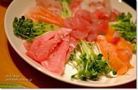 手巻き寿司♪ と ハーゲンダッツ華もち♪ - うひひなまいにち