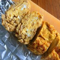 【お弁当】鶏そぼろ入り卵焼き - 野口家のふだんごはん ~レシピ置場~