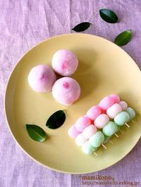 レンジで作る和菓子①。 - mamikono。~ハレの日のお菓子~
