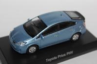 1/64 Kyosho TOYOTA 2 Prius PHV - 1/87 SCHUCO & 1/64 KYOSHO ミニカーコレクション byまさーる
