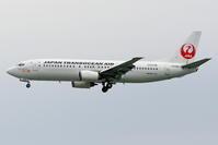 JAL、JTAのダイキンオーキッドロゴを撮りましたが... - 南の島の飛行機日記