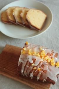 週末のレモンケーキ - はぐくむキッチン