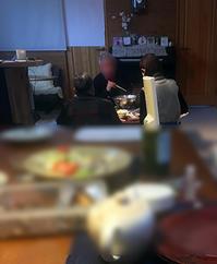 父Junの誕生祝いにかけつけてくれた人とのパーティーを眺めていた。 - Isao Watanabeの'Spice of Life'.