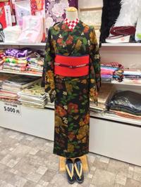 大きな手書きの花柄小紋☆ - Tokyo135° sannomiya