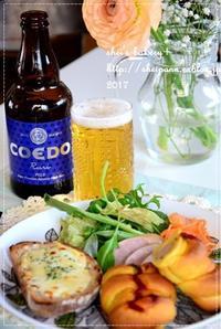 簡単ランチで昼からビール! - *sheipann cafe*