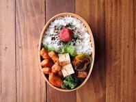 3/1(水)豚のピリ辛中華照り焼き弁当 - おひとりさまの食卓plus
