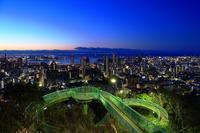 諏訪山公園へ - 彩