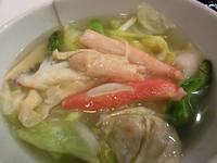 【銀座アスター】選べる麺セット(ずわい蟹と湯葉と野菜のひすい麺) - お散歩アルバム・・春めく日々