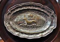 Valentiシルバープレートレリーフ楕円皿114 - スペイン・バルセロナ・アンティーク gyu's shop