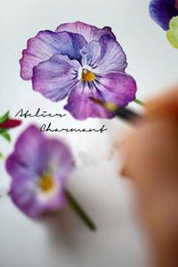 ワークショップお申し込み開始 - Atelier Charmant のボタニカル・水彩画ライフ