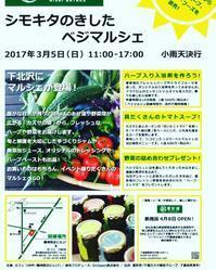 3月5日(日曜日)露崎商店ビル1Fで「シモキタのきしたベジマルシェ」を開催します - つゆ艸 日々のできごと