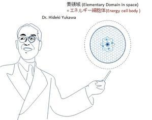 ビックリ! あの天才物理学者 湯川秀樹博士 が晩年、エネルギー体理論の「エネルギー細胞体」とほぼ同じ概念の「素領域」の研究に没頭していた! - 素粒子から宇宙の構造までを司る公理の発見とその検証