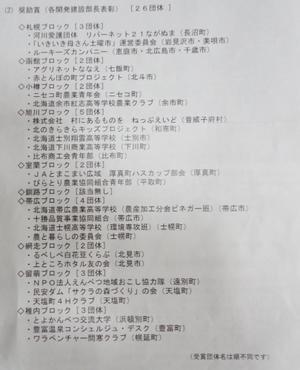 「わが村は美しくー北海道」運動第8回コンクール結果発表 - NPO法人ふらの樹海の里ネットワーク