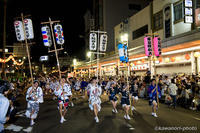 2016 【徳島市阿波おどり】 #21 【学生連-01】 - kawanori-photo