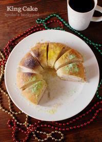 マルディグラにちなんだキングケーキ&ガンボ - Kyoko's Backyard ~アメリカで田舎暮らし~