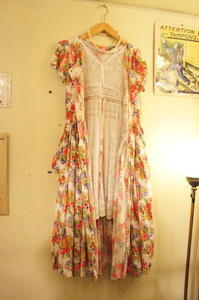 Flower dress - carboots