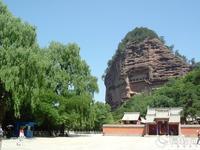 205 麦積山北朝窟龕(1) - 日本じゃ無名?の取って置きの中国一人旅