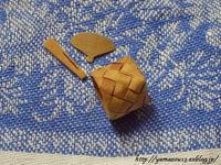 季節ものの小物を作る - ロシアから白樺細工