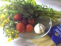 菜の花とアンチョビのパスタ - フィレンツェのガイド なぎさの便り