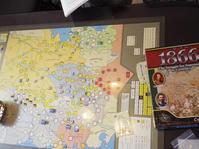 獅子奮迅のプロイセン...(Compass)1866 普墺戦争グランド・キャンペーン - YSGA(横浜シミュレーションゲーム協会) 例会報告