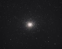 オメガ星団とJohnson彗星(C/2015 V2) - 安倍奥の星空