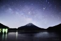 凍てつく湖と天の川 - GreenLife