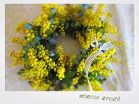 春色リース♥ - 花と写真と