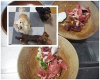 17年3月3日 ひな祭りだけどぉ~ご飯ブログ(笑) - 旅行犬 さくら 桃子 あんず 日記