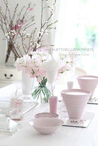 春色のテーブル - フランス菓子教室 Paysage Calme