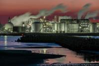 網干工場夜景(2) - シセンのカナタ