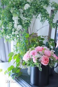 3月レッスン始まりました♪ - Le vase*  diary 横浜元町の花教室