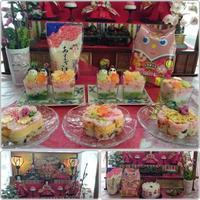 ひな祭り・雛ずし^^; - 気ままな食いしん坊日記2