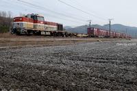 """""""DE貨物""""最終章を田圃ストレートで。 - 山陽路を往く列車たち"""