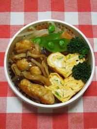 鶏つくねの照り焼き★(^^♪・・・・・さやちゃん弁当 - 日だまりカフェ