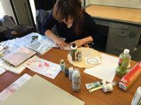 川島詠子先生と撮影しました! - ペイントクラフトBlog 編集スタッフの活動日記