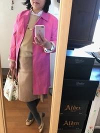 桃の節句、辛いピンク - 着まわせない