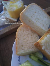 *食パンろいろ 生クリーム食パン メロンパントースト* - ちょこちょこ*homemade Life