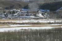 湿原のほとりの町 - 2017年冬・釧網線 - - ねこの撮った汽車