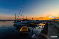 ☆ 漁港の夕暮れ ☆ - Trimming