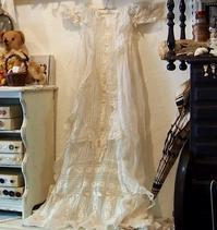 パリの蚤の市から大阪へ*洗礼用のベビードレスとペチパンツ - BLEU CURACAO FRANCE