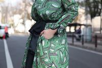 フランス映画の女優みたいな、mina perhonen の ドレス  wind basket ウィンドバスケット - TIMESMARKETのスタッフ日記