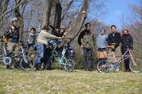春来たりピクニックで祝Shakedown --Moulton SST-22 / F.Gray -- - 微力ではあるが無力ではない。。。