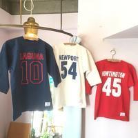 スタンダード・カリフォルニア×チャンピオン フットボール七分袖Teeシャツ - BEATNIKオーナーの洋服や音楽の毎日更新ブログ