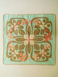 春のハワイアンキルト - eri-quilt日記2