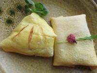 雛祭りの袱紗寿司と桜餅 - フランス Bons vivants idees d'aujourd'hui