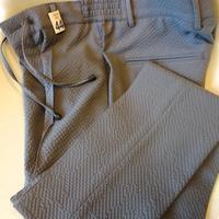 giab's ARCHIVIO(ジャブス・アルキヴィオ)ストレッチサッカーイージーパンツ(ライトグレー/モデル:MASACCIO) - 下町の洋服店 krunchの日記