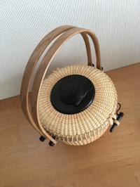 """7""""round purse - NANTUCKET &KK ナンタケットバスケット制作教室blog♪"""